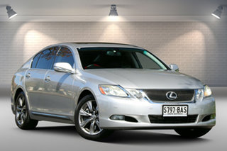2010 Lexus GS GRS190R MY10 GS300 Sports Luxury Silver 6 Speed Sports Automatic Sedan.