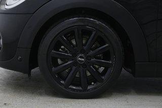 2016 Mini Hatch F56 Cooper S Midnight Black 6 Speed Sports Automatic Hatchback.
