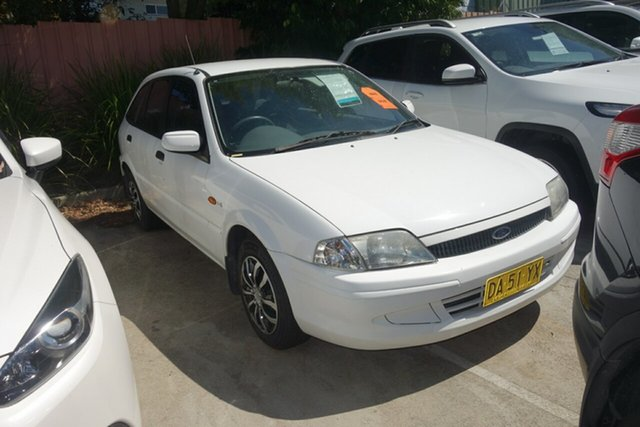 Used Ford Laser KN LXI East Maitland, 2000 Ford Laser KN LXI White 4 Speed Automatic Hatchback