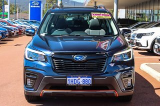 2020 Subaru Forester S5 MY21 2.5i Sport CVT AWD Blue 7 Speed Constant Variable Wagon.