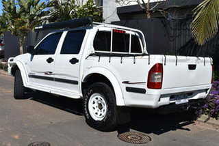 2005 Holden Rodeo RA MY05 LX Crew Cab White 5 Speed Manual Utility.