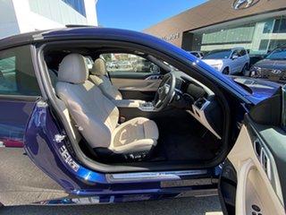 2020 BMW 430i G22 M Sport Tanzanite Blue 8 Speed Auto Steptronic Sport Coupe