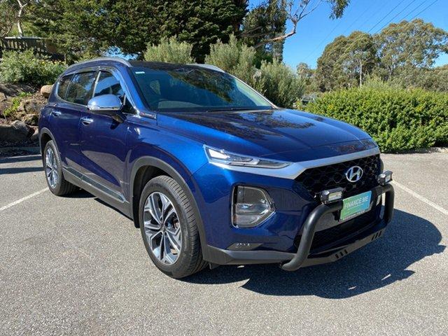 Used Hyundai Santa Fe DM5 MY18 Active Totness, 2018 Hyundai Santa Fe DM5 MY18 Active Blue 6 Speed Sports Automatic Wagon