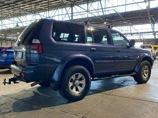 2005 Mitsubishi Challenger PA MY06 Blue 4 Speed Automatic Wagon