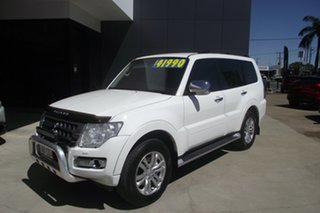 2014 Mitsubishi Pajero NX MY17 GLS White 5 Speed Sports Automatic Wagon