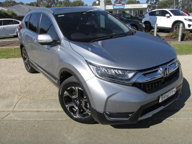 Used Honda CR-V MY18 VTi-LX (AWD) Echuca, 2017 Honda CR-V MY18 VTi-LX (AWD) Silver Continuous Variable Wagon