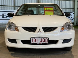 2004 Mitsubishi Lancer CH MY05 ES White 4 Speed Automatic Sedan