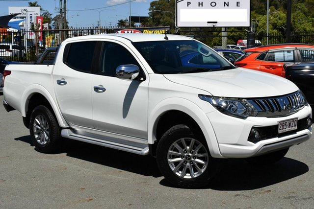 Used Mitsubishi Triton MQ MY17 GLS (4x4) Underwood, 2016 Mitsubishi Triton MQ MY17 GLS (4x4) White 5 Speed Automatic Dual Cab Utility