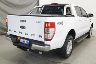 2018 Ford Ranger PX MkII 2018.00MY XLT Double Cab White 6 Speed Sports Automatic Utility