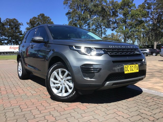 Pre-Owned Land Rover Discovery Sport L550 17MY SE Warwick Farm, 2017 Land Rover Discovery Sport L550 17MY SE Charcoal 9 Speed Sports Automatic SUV