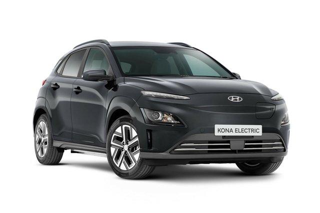 New Hyundai Kona Os.v4 MY21 electric Elite Nailsworth, 2021 Hyundai Kona Os.v4 MY21 electric Elite Dark Knight 1 Speed Reduction Gear Wagon