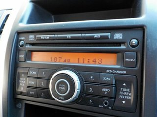 2010 Nissan X-Trail T31 MY10 TS Black 6 Speed Manual Wagon