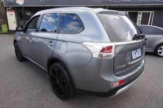 2014 Mitsubishi Outlander ZJ MY14.5 ES 2WD Grey 6 Speed Constant Variable Wagon.