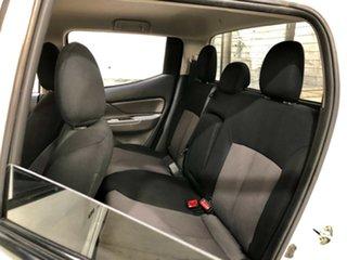 2016 Mitsubishi Triton MQ MY17 GLX Double Cab White 6 Speed Manual Cab Chassis