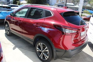 2021 Nissan Qashqai J11 Series 3 MY20 ST-L X-tronic Magnetic Red 1 Speed Constant Variable Wagon