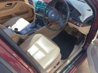 2003 BMW 5 Series E39 MY02 530i Steptronic Executive Red 5 Speed Sports Automatic Sedan.