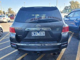 2011 Toyota Kluger GSU40R MY11 KX-S 2WD Grey 5 Speed Sports Automatic Wagon