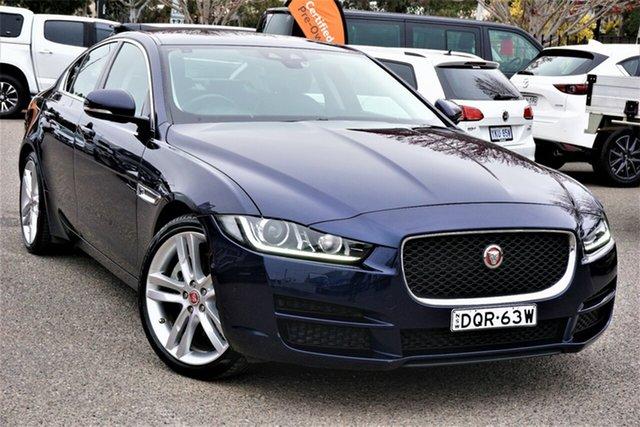 Used Jaguar XE X760 MY17 Prestige Phillip, 2017 Jaguar XE X760 MY17 Prestige Blue 8 Speed Sports Automatic Sedan