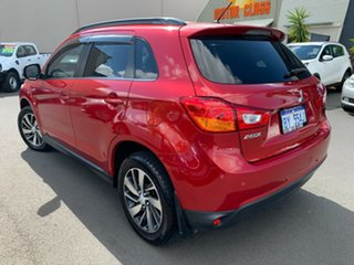 2015 Mitsubishi ASX XB MY15.5 LS 2WD Red 6 Speed Constant Variable Wagon.
