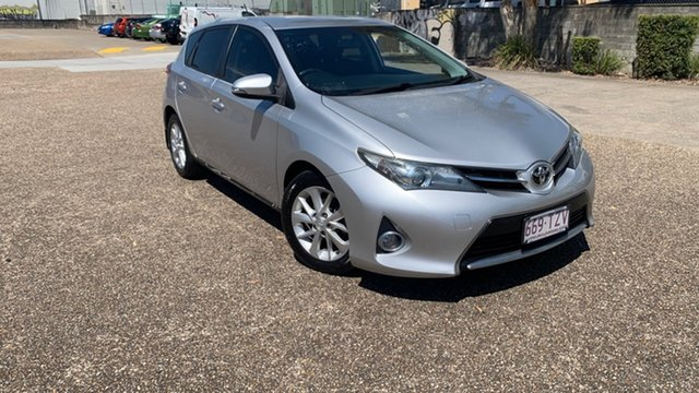 Used Toyota Corolla ZRE182R Ascent Sport Underwood, 2014 Toyota Corolla ZRE182R Ascent Sport Silver 7 Speed CVT Auto Sequential Hatchback