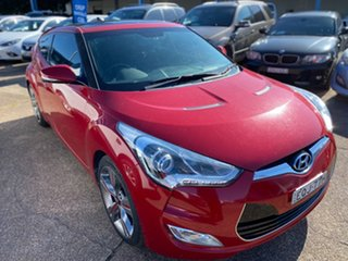 2014 Hyundai Veloster FS3 + Coupe Red 6 Speed Manual Hatchback.