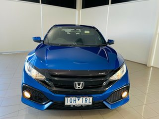 2018 Honda Civic 10th Gen MY18 VTi-S Blue 1 Speed Constant Variable Hatchback.