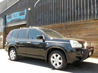 2010 Nissan X-Trail T31 MY10 TS Black 6 Speed Manual Wagon.