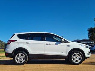 2017 Ford Escape ZG Ambiente White 6 Speed Sports Automatic SUV.
