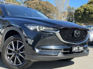 2017 Mazda CX-5 KF4WLA Akera SKYACTIV-Drive i-ACTIV AWD Jet Black 6 Speed Sports Automatic Wagon.