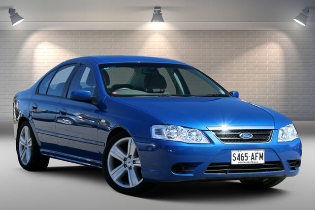 Used Ford Fairmont BF Mk II Gepps Cross, 2007 Ford Fairmont BF Mk II Blue 4 Speed Sports Automatic Sedan