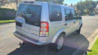 2010 Land Rover Discovery 4 MY10 3.0 SDV6 SE Quartz Silver 6 Speed Automatic Wagon