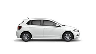 2021 Volkswagen Polo AW MY21 70TSI DSG Trendline Pure White 7 Speed Sports Automatic Dual Clutch