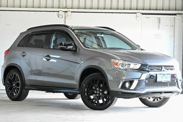 Used Mitsubishi ASX XC MY19 Black Edition 2WD Laverton North, 2019 Mitsubishi ASX XC MY19 Black Edition 2WD Grey 1 Speed Constant Variable Wagon