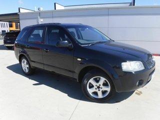 2005 Ford Territory SX TS Black 4 Speed Sports Automatic Wagon.