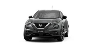 2021 Nissan Juke F16 ST-L+ DCT 2WD Gun Metallic 7 Speed Sports Automatic Dual Clutch Hatchback.