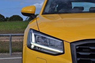 2017 Audi Q2 GA MY17 design S Tronic Yellow 7 Speed Sports Automatic Dual Clutch Wagon.