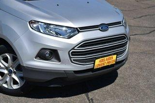 2015 Ford Ecosport BK Trend PwrShift Silver 6 Speed Sports Automatic Dual Clutch Wagon