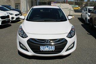 2013 Hyundai i30 GD MY14 Elite White 6 Speed Sports Automatic Hatchback.