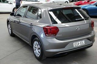 2018 Volkswagen Polo AW MY18 70TSI Trendline Grey 5 Speed Manual Hatchback