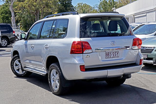 2012 Toyota Landcruiser VDJ200R MY12 Altitude Silver 6 Speed Sports Automatic Wagon.