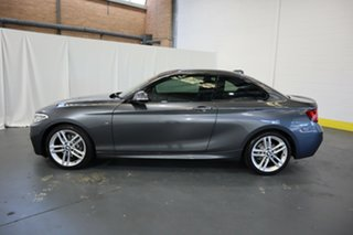 2015 BMW 2 Series F22 220i M Sport Grey 8 Speed Sports Automatic Coupe