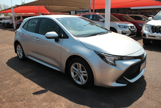 Pre-Owned Toyota Corolla Mzea12R Ascent Sport Darwin, 2019 Toyota Corolla Mzea12R Ascent Sport Silver Pearl 10 Speed Automatic Hatchback