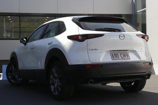2021 Mazda CX-30 DM2WLA G25 SKYACTIV-Drive Astina Snowflake White 6 Speed Sports Automatic Wagon.
