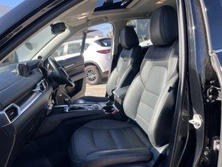 2017 Mazda CX-5 KF4WLA Akera SKYACTIV-Drive i-ACTIV AWD Jet Black 6 Speed Sports Automatic Wagon