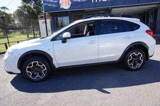 2012 Subaru XV G4X MY13 2.0i Lineartronic AWD Satin White Pearl 6 Speed Constant Variable Wagon.