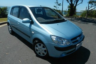 2006 Hyundai Getz TB MY06 Blue 4 Speed Automatic Hatchback.