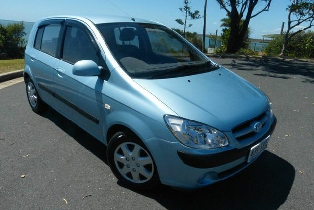 Used Hyundai Getz TB MY06 Gladstone, 2006 Hyundai Getz TB MY06 Blue 4 Speed Automatic Hatchback