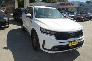 2020 Kia Sorento MQ4 MY21 S AWD White 8 Speed Sports Automatic Dual Clutch Wagon.