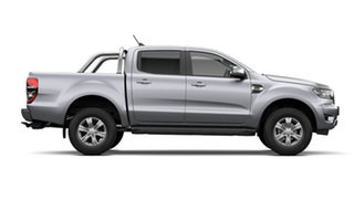 2021 Ford Ranger PX MkIII XLT Double Cab Aluminium Silver 6 Speed Automatic Pick Up.