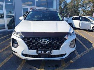 2020 Hyundai Santa Fe TM.2 MY20 Highlander White 8 Speed Sports Automatic Wagon.